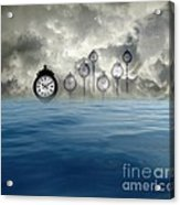 Time Is Floating Acrylic Print