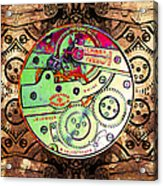 Time Machine 20130606 Acrylic Print by Wingsdomain Art and Photography