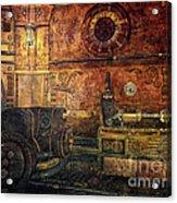 Time Machine Acrylic Print