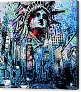 Times Square 2 Acrylic Print