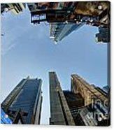 Time Square Sky View Acrylic Print