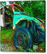 Time To Change Tire Acrylic Print