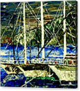 Time To Sail  Acrylic Print