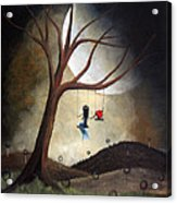 Time Together By Shawna Erback Acrylic Print by Shawna Erback