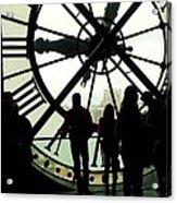 Time Travelers Acrylic Print