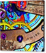 Time Waits For Nobody 20130605 Acrylic Print by Wingsdomain Art and Photography