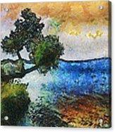 Time Well Spent - Medina Lake Acrylic Print