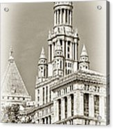 Timeless- New York City Hall Acrylic Print