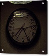 Time's Callous Imprecision Acrylic Print