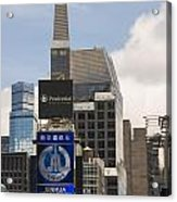 Times Square Color Acrylic Print