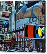 Times Square Energy Acrylic Print