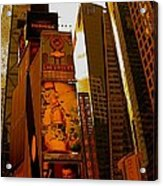 Times Square In Manhattan Acrylic Print