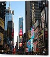Times Square - New York I Acrylic Print