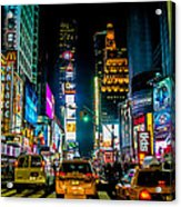 Times Square Nyc Acrylic Print