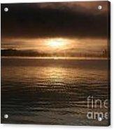 Timothy Lake Mysterious Sunrise 2 Acrylic Print