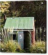 Tin Hut Acrylic Print
