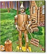 Tin Man Acrylic Print
