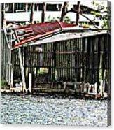 Tin Roof Rusted Acrylic Print