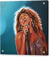 Tina Turner 3 Acrylic Print