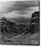 Tinajani Canyon Near Puno Peru Acrylic Print
