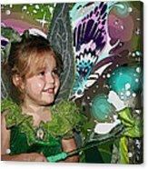 Tinkerbell Acrylic Print by Ellen Henneke