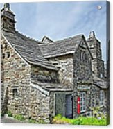 Tintagel Post Office  Acrylic Print