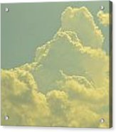 Tinted Cloud Acrylic Print by Kiros Berhane