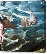 Tintoretto's Christ At The Sea Of Galilee Acrylic Print