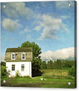 Tiny Country House Acrylic Print