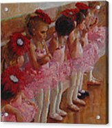 Tiny Dancers Acrylic Print by Jeanne Young