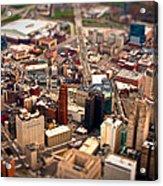 Tiny Town Acrylic Print