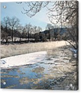 Tioughnioga River Landscape Acrylic Print