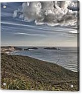 Tip Of The Bluff Acrylic Print