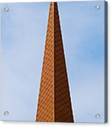 Tip Of The Tall Steeple Acrylic Print
