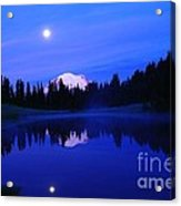 Tipsoe Lake In The Morn  Acrylic Print by Jeff Swan