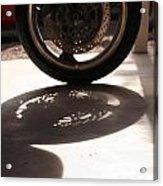 Tire Acrylic Print