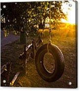 Tire Swing Acrylic Print