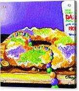 Tis Da Season Mista Acrylic Print by Terry J Marks Sr