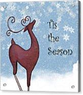 Tis The Season Acrylic Print