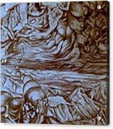 Titan In Desert Acrylic Print
