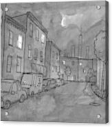 Title: Slow Night Acrylic Print