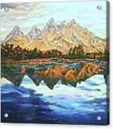 Titon Reflections Acrylic Print