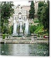Tivoli Fountains Acrylic Print