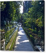 Tivoli Gardens Acrylic Print