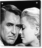 To Catch A Thief Cary Grant And Grace Kelly Acrylic Print