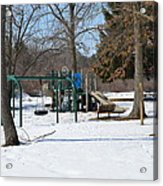 To Cold To Play Acrylic Print