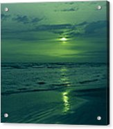 To Green To Be Blue Acrylic Print
