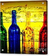 To Much Of Wine Acrylic Print