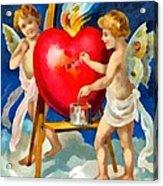 To My Valentine Acrylic Print
