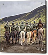 To Ride The Paths Of Legions Unknown Acrylic Print